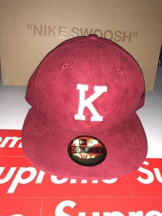 low priced fa368 a48ec Kith x Aspen New Era Fitted Hat Size 7 1 8 Red  fashion  clothing  shoes   accessories  mensaccessories  hats (ebay link)