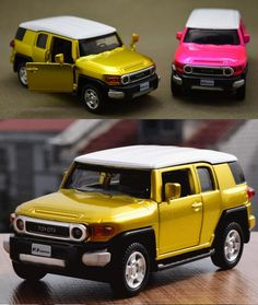 Toyota Fj Cruiser Blue High Profile Off Road Series Diecast