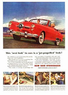 1950 Studebaker Ad
