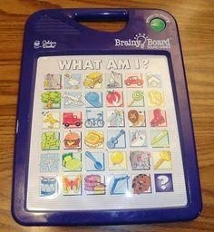What Am I? Sound Games Brainy Board Works New Batteries Hard to Find Golden Book #GoldenBooks