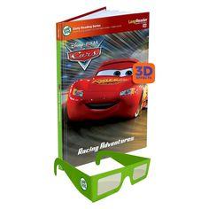 LeapFrog� LeapReader� Book: Disney Pixar Cars 3D  - Target Exclusive (works with Tag)