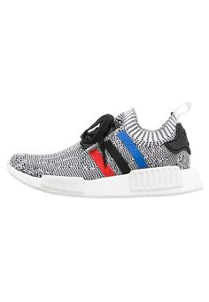 sports shoes e9fd4 cc59c adidas Originals NMD R1 - Sneakers laag - white corred core black - Zalando.