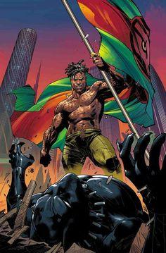 Black Panther Vol 7 15 Marvel Vs, Marvel Villains, Marvel Comics Art, Marvel Heroes, Cosmic Comics, Avengers Comics, Black Panther Marvel, Black Panther Art, Mike Deodato