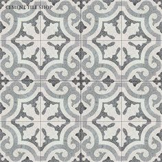 Cement Tile Shop - Encaustic Cement Tile Kyra II Terrazzo- master bath shower