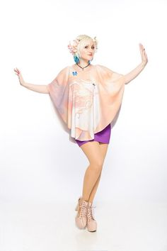Wind Poncho Tank - Gold Bubble Clothing