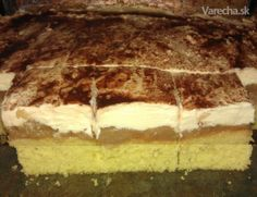 Tvarohovo-jablkový zákusok Nutella, Tiramisu, Food And Drink, Apple, Snacks, Cooking, Cake, Ethnic Recipes, Desserts