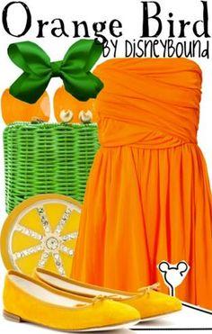 Disney Bound -- Orange Bird