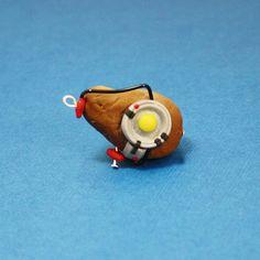 Portal 2 GLaDOS Potato Polymer Clay Charm, $4.00