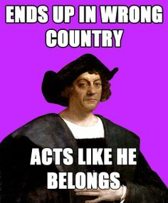 I HATE Columbus Day...I will definitely tell my students the real truth behind this guy.