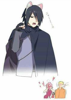 Sasuke gatinho