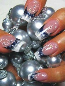25 Snowflake Nail Designs For Christmas Eve! - Part 7