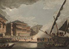 A Feast in Tarabya, Istanbul, 1803, 'Luigi Mayer'(51) Twitter