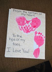 Leading Them To The Rock : Valetine's Day crafts