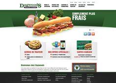 Consumer Services Website Portfolio by WSI Montreal Nutrition, Portfolio Website