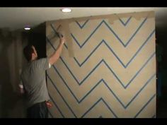 Using the U-Stripe It & Design Tool makes painting zig zag chevron designs on your walls easy.  Under two hours and no experience needed.  This video shows you how to put the zig and the zag in your interior designings.  More how to videos with painting stripes, circles, squares and other designs on your walls go to www.ustripeit.com.