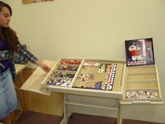 The Ultimate Puzzle Board With Drawers Wicked Cool Diy