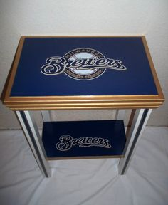 Milwaukee Brewers Inspired Sports Table Baseball by drSportsCaves