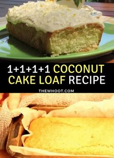 Have you discovered the Coconut Loaf Cake yet? It has 4 ingredients that are one cup each. This Cake is famous and we have a video tutorial to show you how!