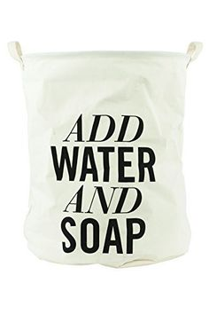 "Wäschesack ""Add Water and Soap""  www.irierebel.com"