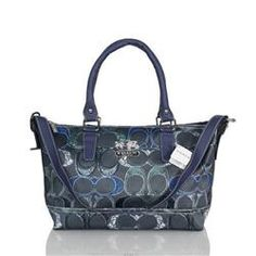c6cbb5984392 Coach In Monogram Large Navy Totes BWR Coach Sneakers