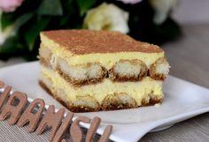 Tiramisu kolač koji je jako lagan za napraviti, a još lakši za pojesti Recipe Images, Deserts, Cooking Recipes, Ethnic Recipes, Chiffon Cake, Grands Parents, Life, Cakes, Milk Bar Cake