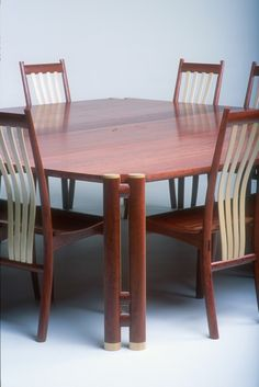 Dunstone design - River red gum used as a fine furniture timber.