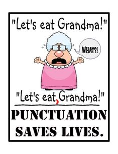 Link to buy this poster for my classroom for only $3, LOVE! I take punctuation very seriously :)