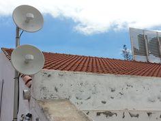 Otro punto de vista de la Instalación #WiFiCanarias #AirInternet para un Call Center VoIP con conexiones simétricas ;-)