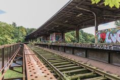 Fotolocation Berlin Bahnhof Siemensstadt - Geisterbahnhof