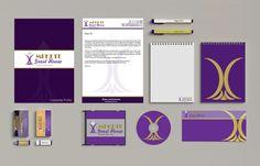 Mekete Lodge Corporate Branding by Eric Ratshili , via Behance