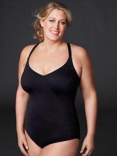 Speedo plus size swim dress