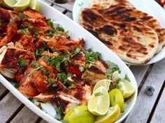 [Tandoor-Style Grilled Chickens or Cornish Hens