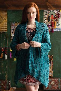 Crochet Square Cardigan