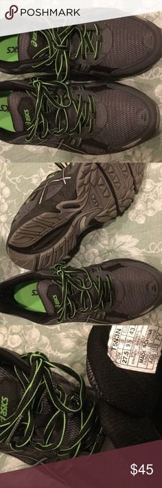 EUC! Men's Aasics. 9.5. Worn once. Men's sneakers. Worn once. Excellent condition. Asics Shoes Sneakers