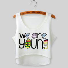 Cropped Feminino Summer Tops Fashion Sleeveless Women Tank Top Sexy Elephant Print Crop Top O-neck camisole Vest Tees Crop Top Styles, Cropped Tops, Harajuku Fashion, Harajuku Style, Summer Tops, Elephant Print, Tank Tops, Print Print, Vest