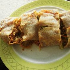 Nonya Popiah Delicious spring roll for snacks or appetizers. It's better to use the soft, thin crepe-like fresh popiah skin but you can substitute with d...