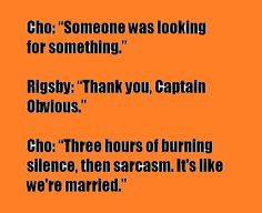 the mentalist - Cho & Rigsby: the married couple xP