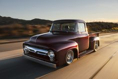 Bodie Stroud's 1956 Ford F-100 restomod offers timeless lines and modern tech!