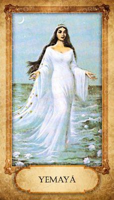 Prayer Card - Yemayá (B)
