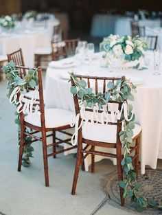 Rustic sweetheart chairs: http://www.stylemepretty.com/2015/09/21/intimate-summer-sunstone-villa-wedding/ | Photography: Luna de Mare - http://lunademarephotography.com/