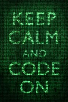 Keep Calm and Code On Poster at AllPosters.com
