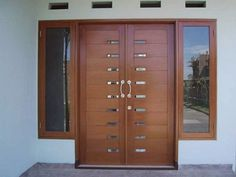 Incredible latest entrance door designs hall design attractive house and window the front for houses ideas . entrance door design designs for indian homes Wooden Front Door Design, Main Entrance Door Design, Double Door Design, Wooden Front Doors, The Doors, Home Door Design, Door And Window Design, Door Design Interior, House Front Design