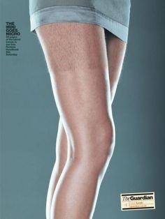 """Guardian Newspaper: """"MICRO MINI"""" Print Ad  by Bmp DDB"""