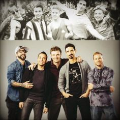 backstreet boys. then and now