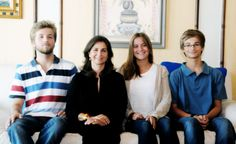 ready4royalty:  The Duchess of Braganza with her three children-Infante Alfonso, Prince of Beira, Infanta Maria Francisca and Infante Dinis