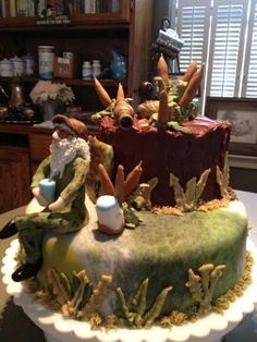 Duck Dynasty Birthday Cake The Mighty Baker Special Occasion