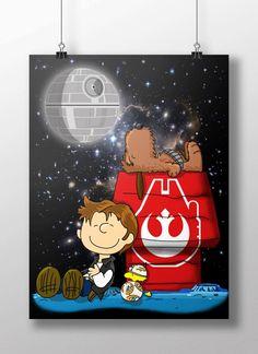 Peanuts Star Wars