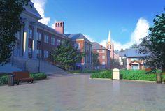 Patio del campus