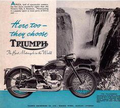 Getting around Africa ? Go Triumph !