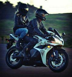 Imagen de couple, motorbike, and motorcycle Motocross Couple, Biker Couple, Motorcycle Couple, Motorcycle Style, Biker Chick, Biker Girl, Couple Motard, Biker Love, Bike Photoshoot